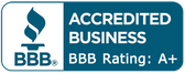 BBB – A+ Rated; Accredited Since 1963